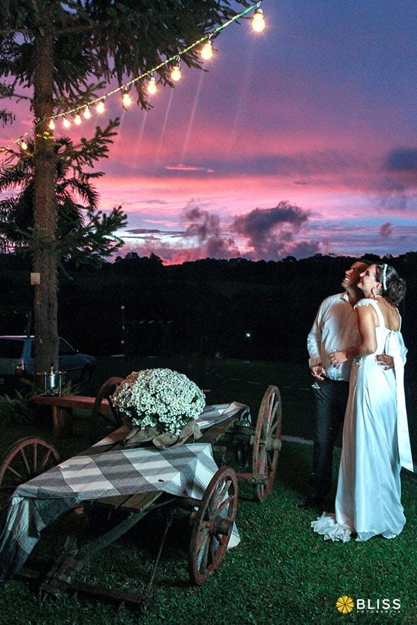 Fotografia da Festa de Casamento da Carol e do Tiago realizado por Bliss Fotografia.