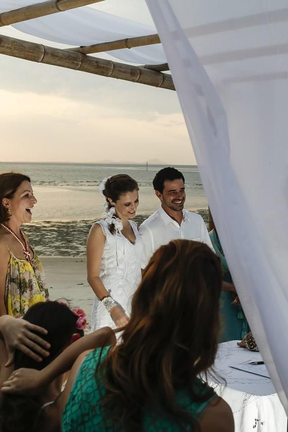 Fotografia de casamento na ilha do mel realizado por Bliss Fotografia. Fotografo curitiba.
