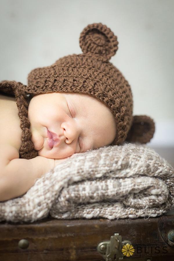 book fotografico de newborn realizado por Bliss Fotografia